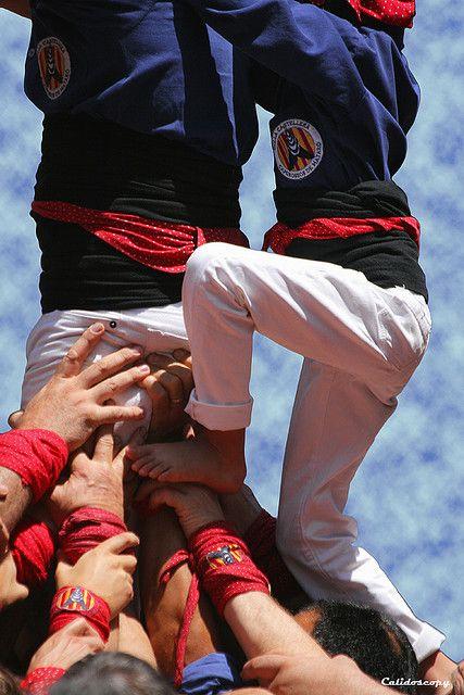 Amunt! capgrosos de Mataró Catalonia