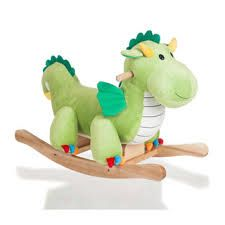 stuffed rocking dragon Have this one already.