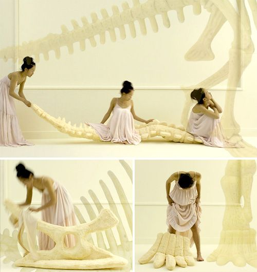 Giant Foam Dinosaur Bones Are Way Cooler Than Traditional Throw Pillows
