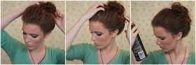 The Freckled Fox : 'The Basics' Hair Week, Tutorial #4: The 10 Sec Top-knot
