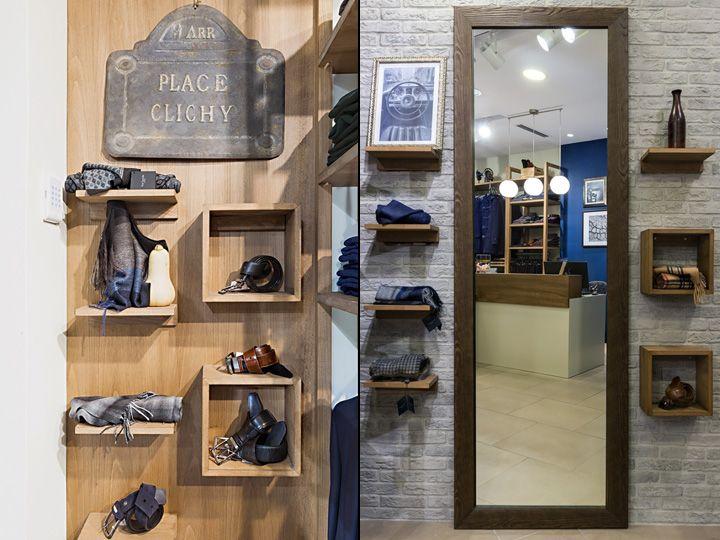 Guy Laroche Men's Clothes Store by Square Design Interiors, Athens – Greece » Retail Design Blog