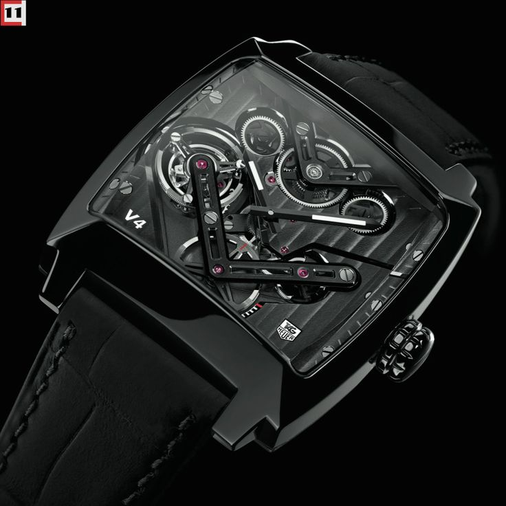 Mad Watch Project: Tag Heuer Monaco V4 Tourbillon