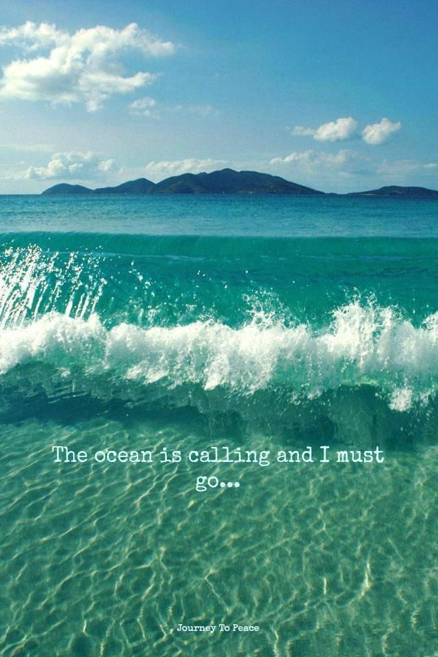 The Ocean is calling and I must go!!!! #exmermaid #summerdream