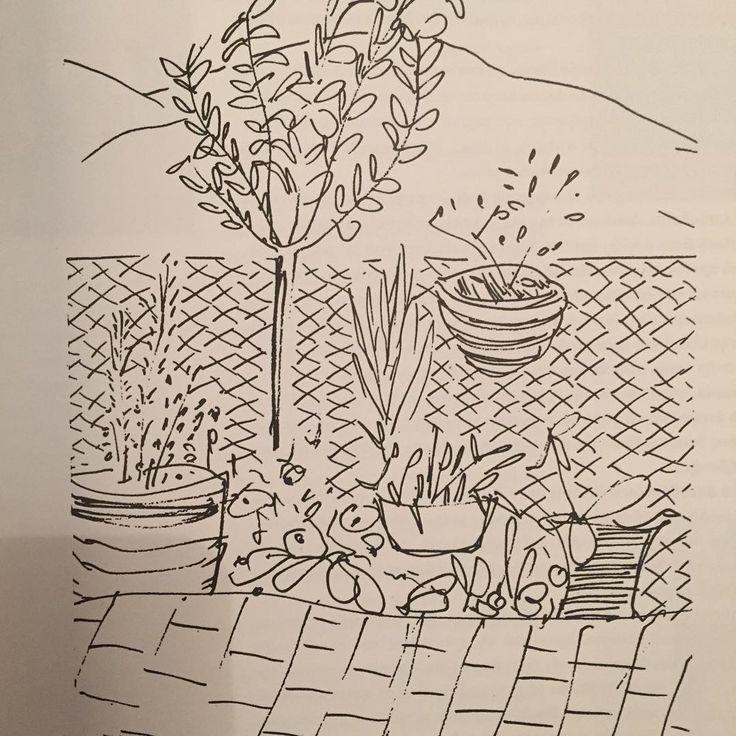 Odysseus Elytis, Garden in Eretria,  1966 from the book Odysseas Elytis, Ο Ναυτίλος του Αιώνα, εκδόσεις Ίκαρος ®2011