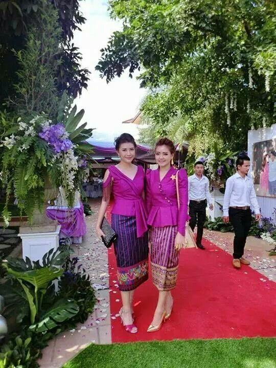 40 best seragam pernikahan images on pinterest for Laos wedding dress for sale