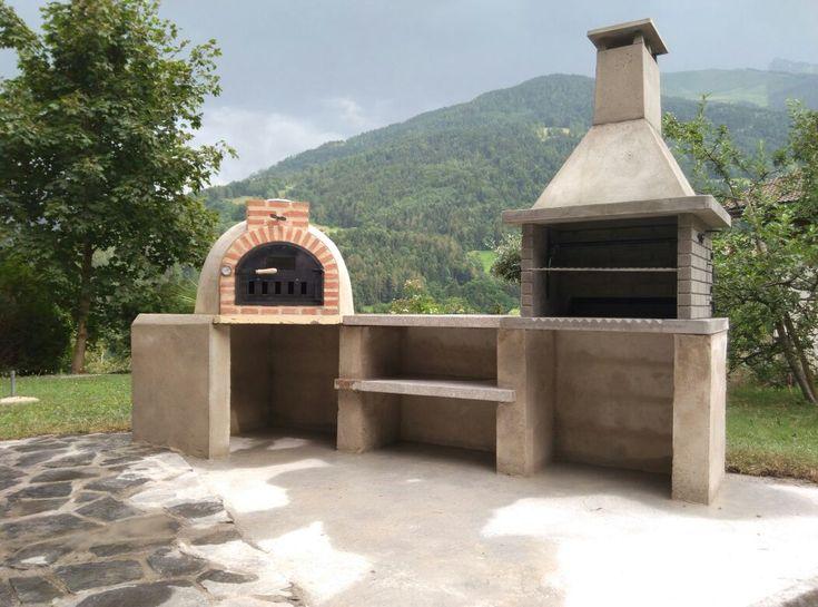 Las 25 mejores ideas sobre asadores de ladrillos en - Como se construye un horno de lena ...