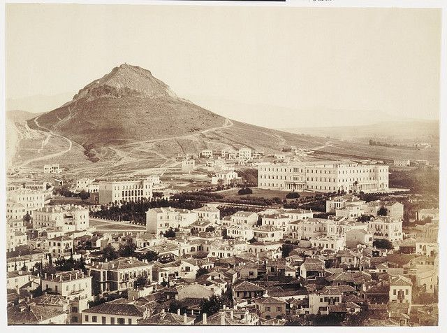 athens l860 from acropolis by janwillemsen, via Flickr