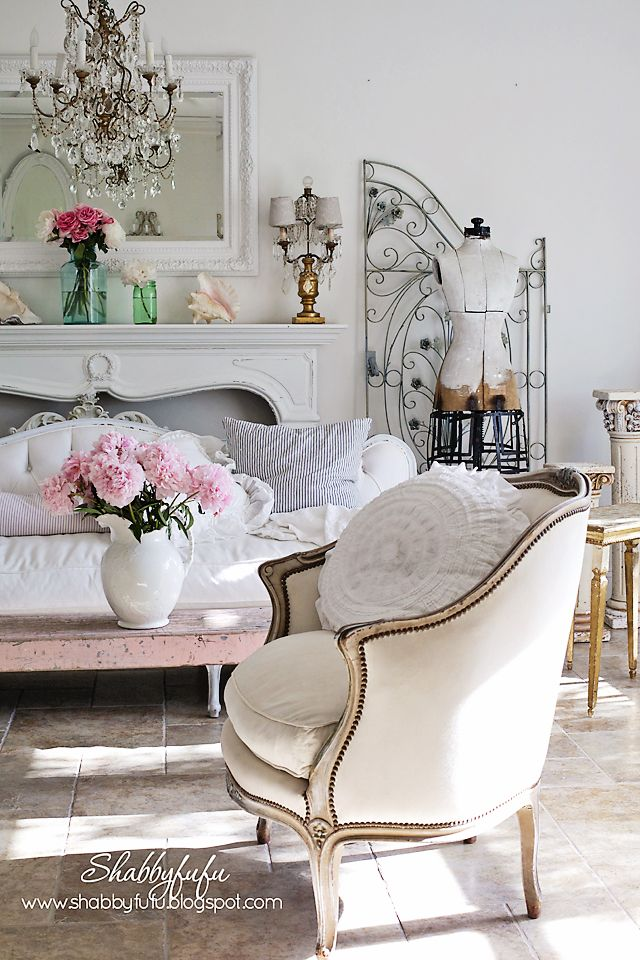Shabby Chic vintage home decor Perfect for