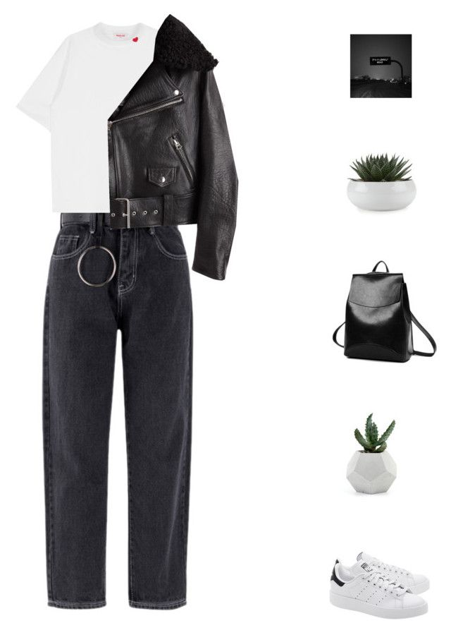 """(First time) I share with so personal thoughts below..."" by fashionmelka ❤ liked on Polyvore featuring adidas Originals and Acne Studios"
