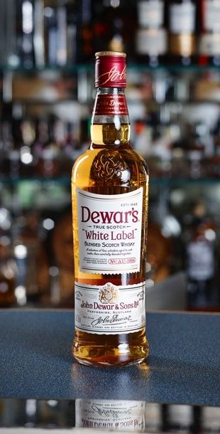 Dewar's White Label Blended Scotch Whisky. Today DEWAR'S is the fifth largest Blended whisky brand in the world, and the top selling Scotch Whisky in the USA.  Founded in 1846 by John Dewar of Perth, Scotland.