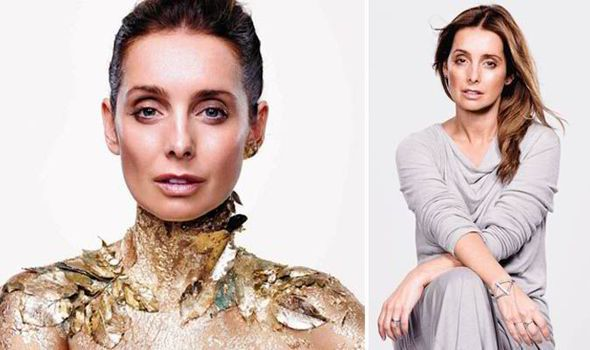louise redknapp wild about beauty | Louise Redknapp, 40, reveals SNAIL SLIME is the secret to her youthful ...