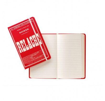 Carnet de notes - Relâche - Collection Affiches