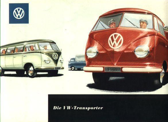 VW - 1956 - Die VW-Transporter - w 1/14 - [1523]-1