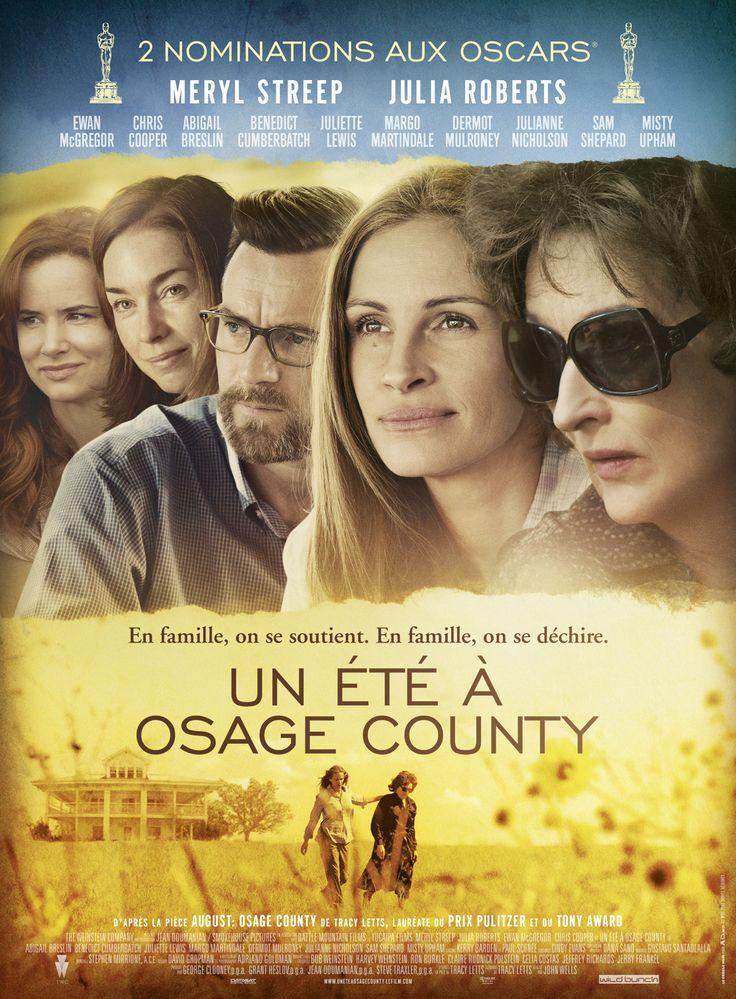Un été à Osage County est un film de John Wells avec Meryl Streep, Julia Roberts. Synopsis : En famille, on se soutient. En famille, on se déchire... Suite à la disparition de leur père, les trois filles Weston