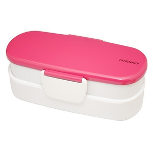 Bento-Box Double Slim Hot Pink