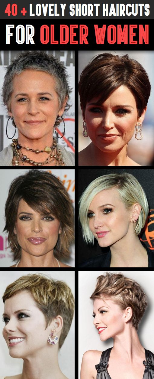 Age Gracefully And Beautifully With These Lovely Short Haircuts For  - Here you will find 35 chic, creative and stylish short haircuts for older women that will truly inspire you and make you call for an appointment at your local hair salon right away!Older Women!