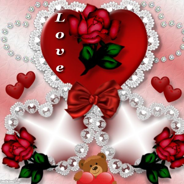 heart frames - Valentines Picture Frames