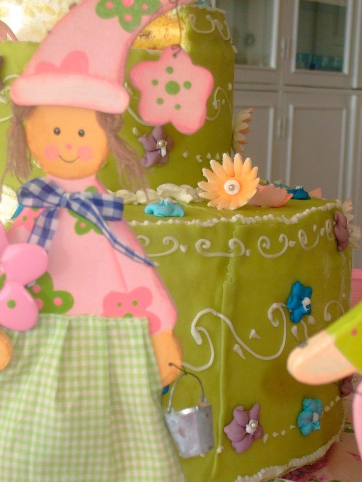 la torta del compleanno di una bellissima principessa!
