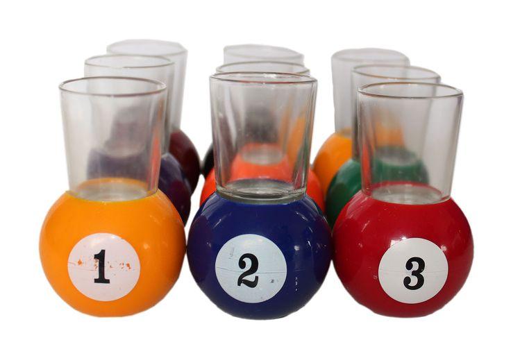 Billiard Shot Glass (Multi Color)