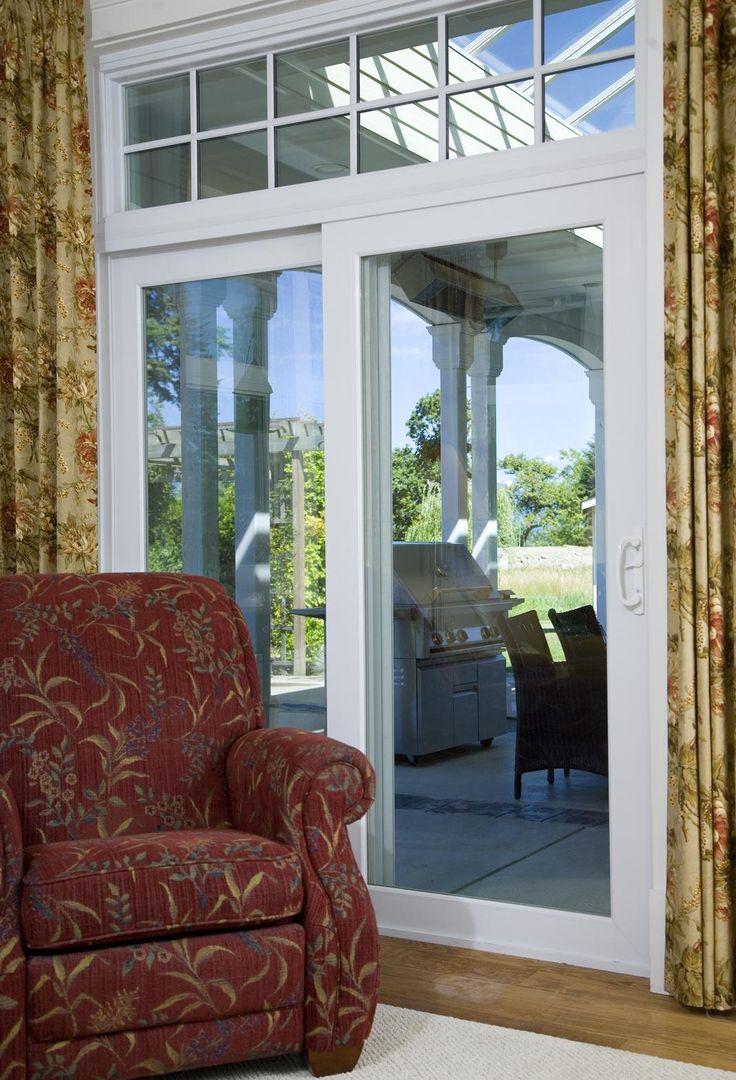 12 best vinyl patio doors images on pinterest patio for Best energy efficient patio doors