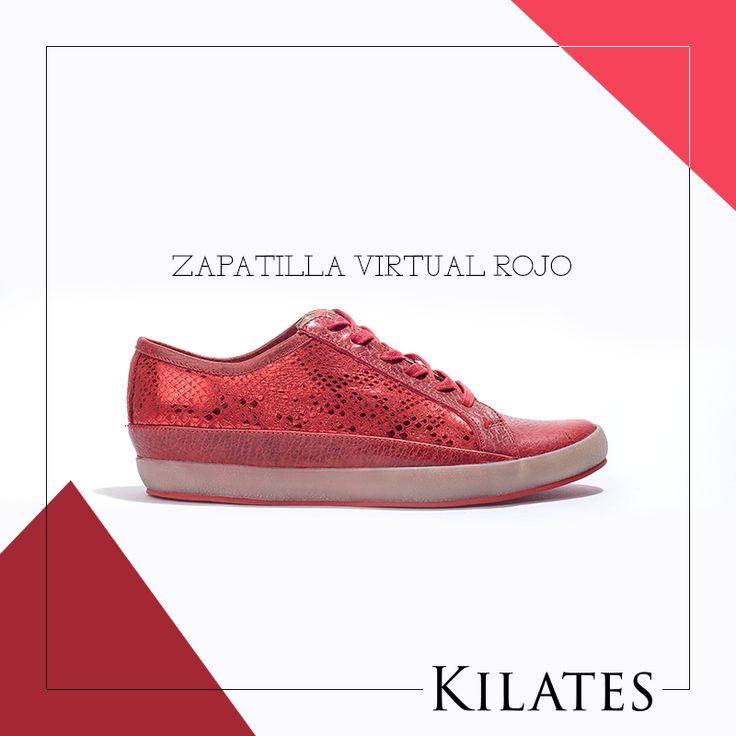 Zapatilla Virtual Rojo