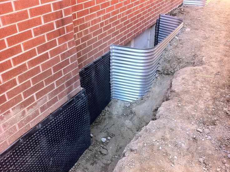 17 best images about foundation waterproofing on pinterest yard drainage the family handyman for Exterior waterproofing basement