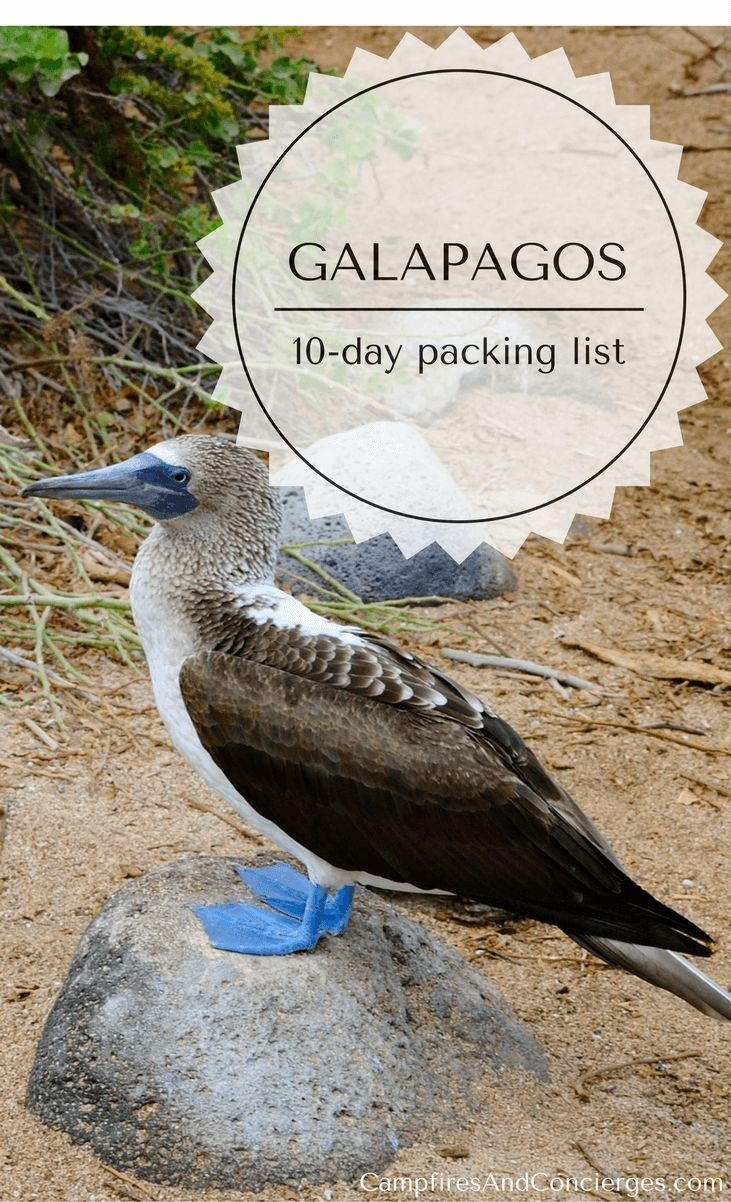Galapagos Islands Packing list #galapagos #packinglist