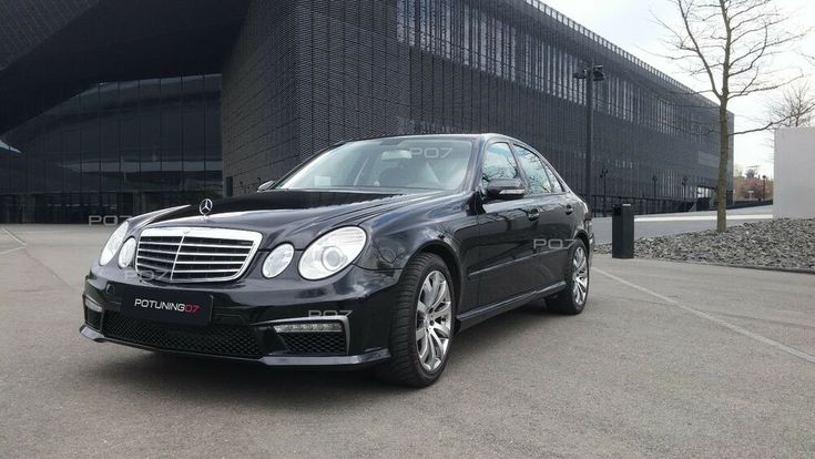 Mercedes-Benz E-Class W211 Facelif FRONT TAIL REST AMG LOOK