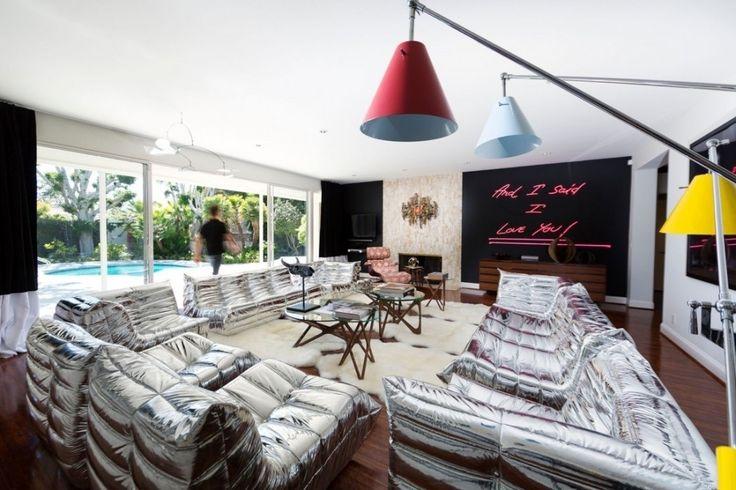 Апартаменты в стиле модерн в Беверли-Хиллз https://www.facebook.com/FAQinDecor/posts/384288815092627 #FAQinDecor #design #decor #architecture #interior #art #дизайн #декор #архитектура #интерьер