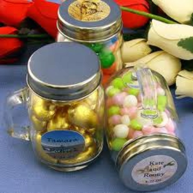 Mason Jar Wedding Favor Ideas: Best 25+ Mason Jar Favors Ideas On Pinterest