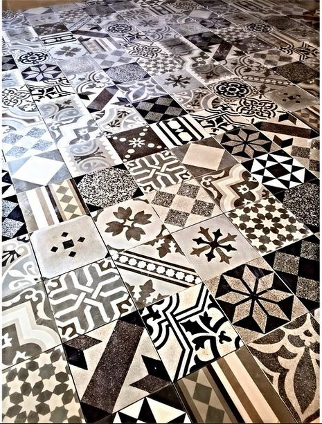 This week, we're installing this @apavisa Hydraulic concrete tile in the kitchen of our 1920's Spanish remodel. This crazy mix blends the home's historic roots with a contemporary look. #vparchitecture #architecture #tile #historichomes #interiordesign #homeremodel #design #luxurylifestyle