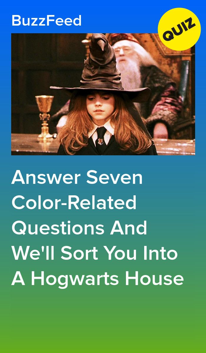 Answer Seven Color Related Questions And We Ll Sort You Into A Hogwarts House Harry Potter House Quiz Harry Potter Buzzfeed Harry Potter Quiz