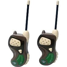 LAURENT : Des walkie-talkie