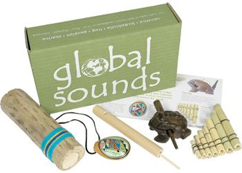 Global Sounds Kit  Global Sounds Kit is great for children to explore different instruments, children will love the challenge of working out how to play all the instruments, then being able to create a song or experiment with the sounds.