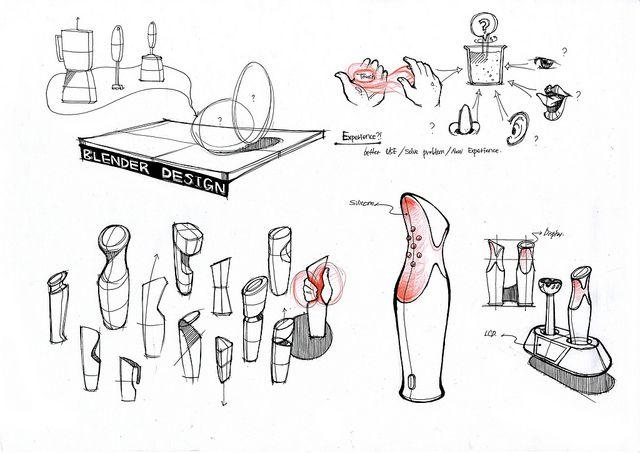 Sketch of Smart Embossed Blender by HwaJin Ock - Electrolux Design Lab 2012 semi-finalist by Electrolux Design Lab, via Flickr