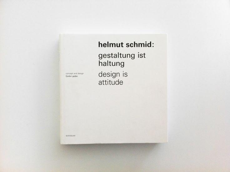 helmut schmid _ design is attitude