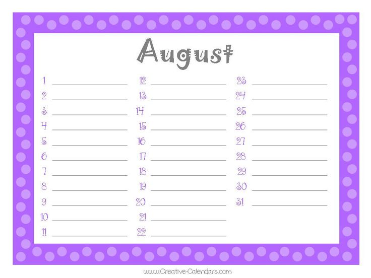 134 best Calendars images on Pinterest Burp rags, Calendar and - sample birthday calendar