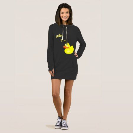 Funny What The Duck Dress - click/tap to personalize and buy