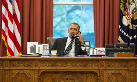27 Sept. Obama holds historic phone call with Rouhani and hints at end to sanctions