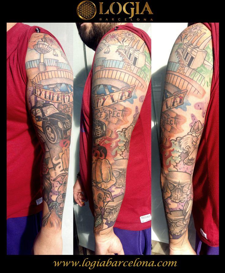 Φ JUANMA ZOMBIE Φ Info & Citas: (+34) 93 2506168 - Email: Info@logiabarcelona.com #logiabarcelona #logiatattoo #tatuajes #tattoo #tatuador #tattooink #tattoolife #tattooworld #tattoobarcelona #tattoosenbarcelona #ink #artisttattoo #inked #inktattoo #tattoocolor #tattooartwork #city #Barcelona