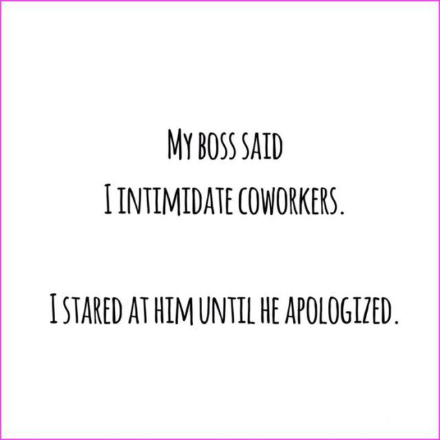 Work Quote : lifesyle blog ipinkypromise.be | funny & sarcastic quote. My boss said I intim
