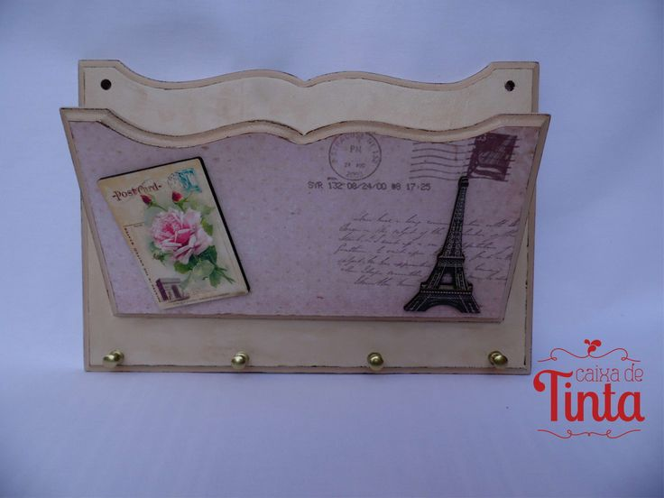 Porta Correspondência e Chaves Paris