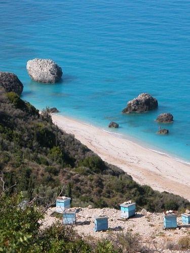 Playa de  Kalamitsi, Lefkada