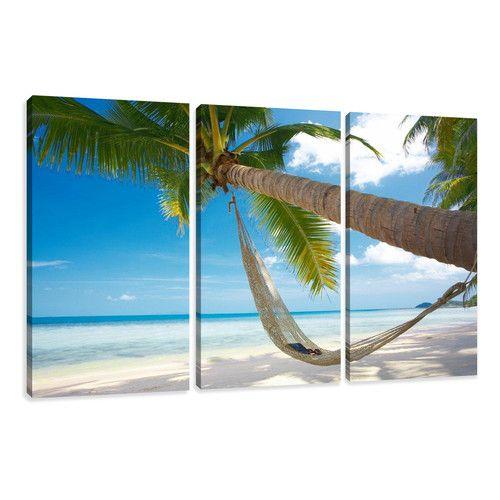 3-tlg. Leinwandbild-Set Palm Tree Hammock Fotodruck Jetzt bestellen unter: https://moebel.ladendirekt.de/dekoration/bilder-und-rahmen/bilder/?uid=f8d0b004-948f-53e5-bd99-0cc038bf7190&utm_source=pinterest&utm_medium=pin&utm_campaign=boards #art #bilder #rahmen #wall #dekoration