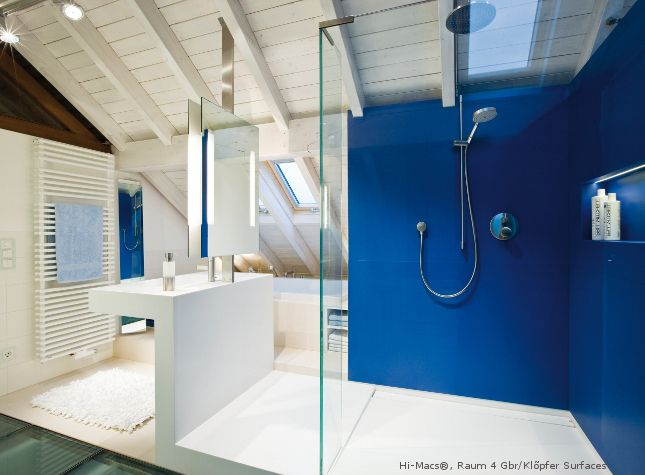 17 best images about dreaming in blue bathrooms on for Cobalt blue bathroom ideas