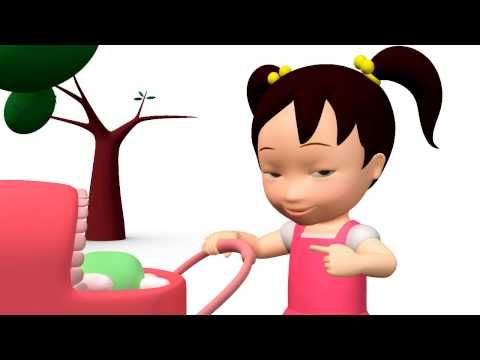 Miaomiao Chinese learning animation video 05   Kids Game Channel