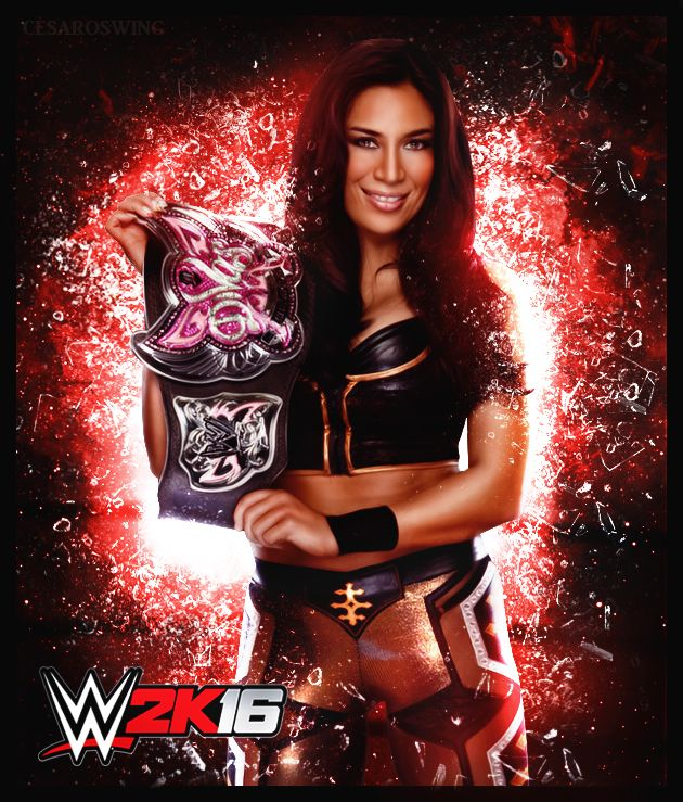 Former WWE Superstar Melina 2k16 Custom Render by cesaroswing.deviantart.com on @DeviantArt