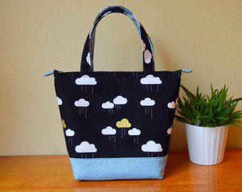 Isolé Lunch Bag / Sac à Lunch avec porte-bouteille fait à la