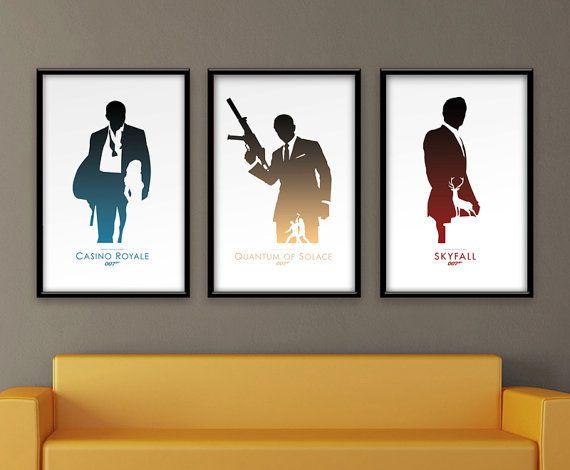 James Bond 007 Daniel inspiré Craig Poster par ThePixelEmpire, $40.00