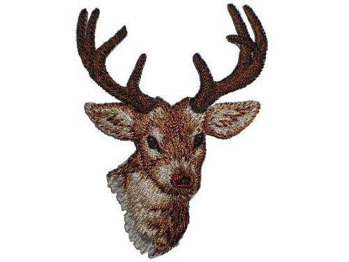 Hirsch 5,4 cm * 7,2 cm Bügelbild Reh Waldtiere Rehe Jagd Trachten Aufnäher Applikation Patch Aufbügler Belldessa http://www.amazon.de/dp/B003DR77IA/ref=cm_sw_r_pi_dp_PsTJwb0B96PAM